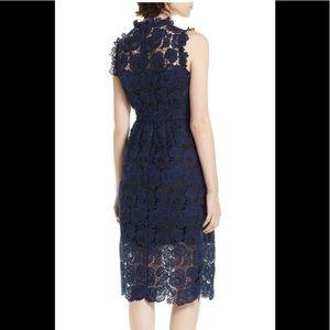 kate spade Dresses - Kate Spade Bicolor Lace Midi Dress.  ECU.